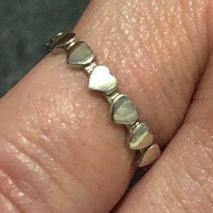 Tiffany & Co Paloma Crown of Hearts ring